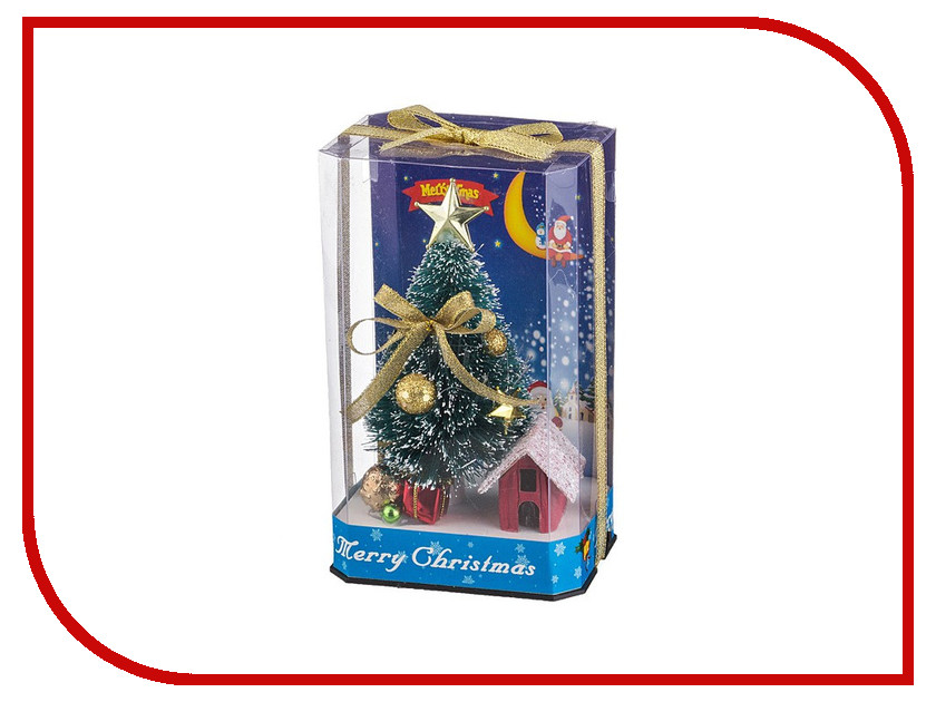 Новогодний сувенир Lefard Елочка с подсветкой 16.3cm 161-100