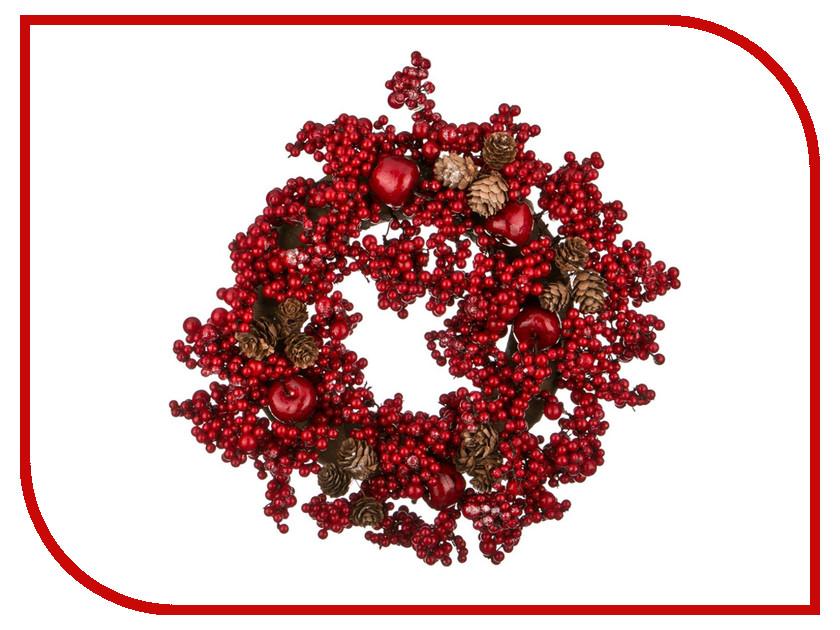 Хвойный декор Lefard Новогодний венок 35cm 256-119