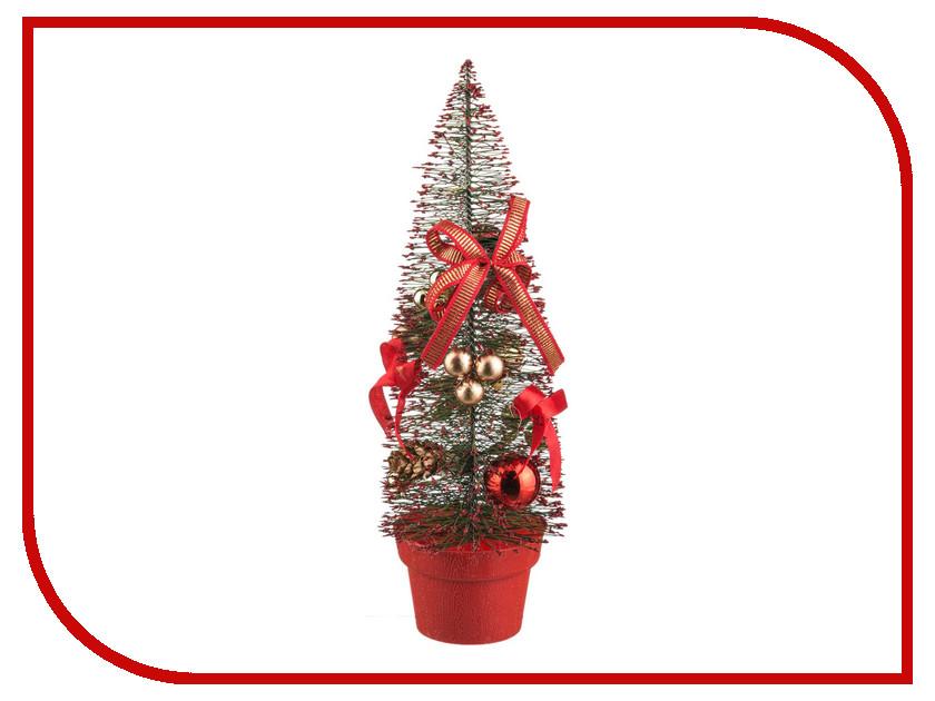 Искусственная Lefard c украшениями 30cm Red 160-131