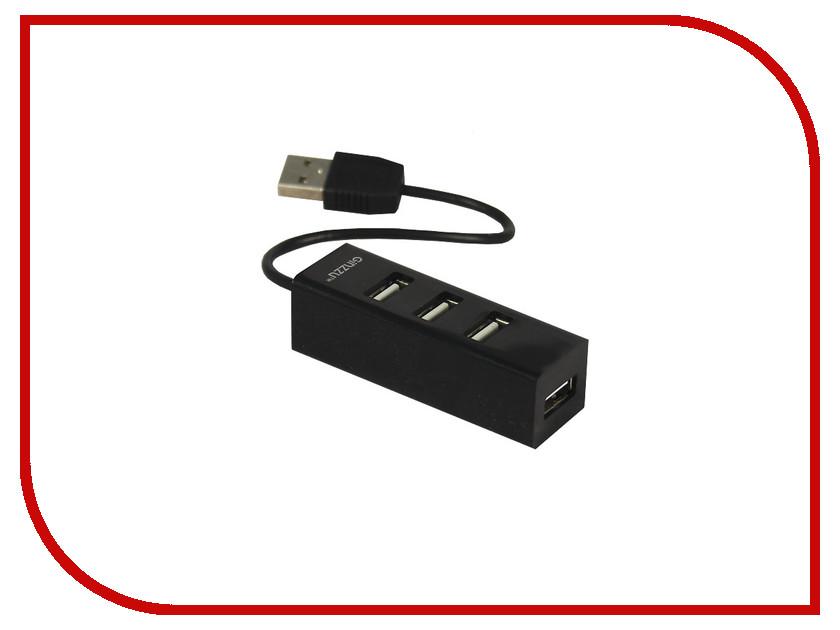 Хаб USB Ginzzu GR-464UB 4-ports
