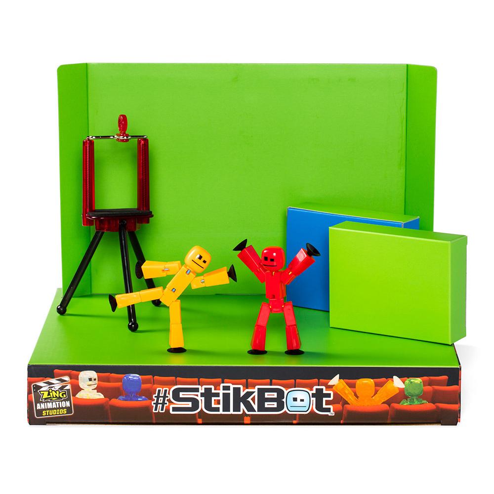 Игрушка Zing Stikbot Анимационная студия со сценой TST617