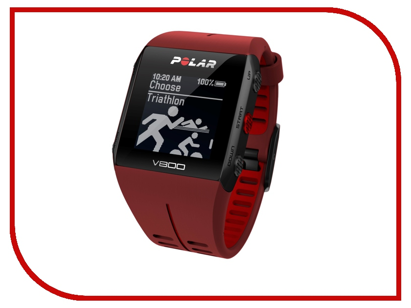 Пульсометр Polar V800 HR Red NEW