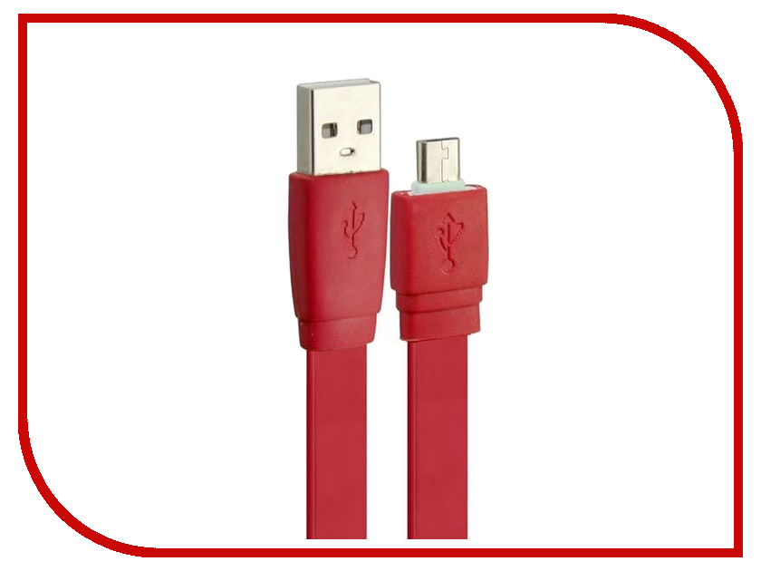 Аксессуар Pro Legend micro-USB 1m Red PL1315<br>