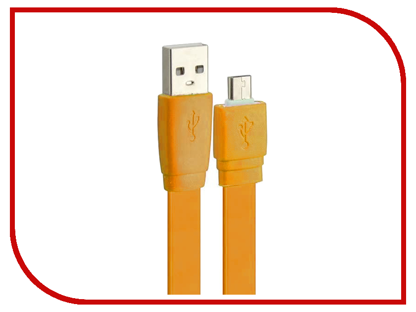 Аксессуар Pro Legend micro-USB 1m Orange PL1316<br>