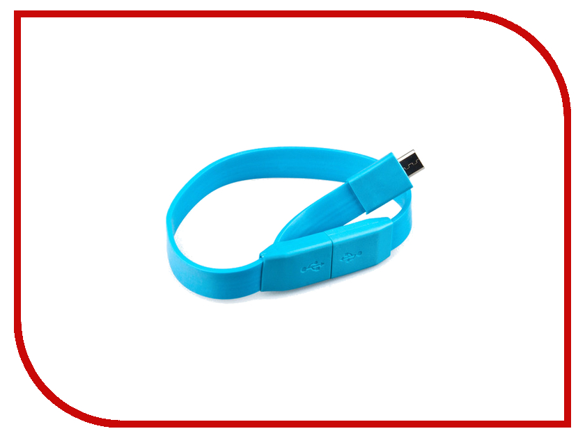 Аксессуар Pro Legend micro-USB 25cm Blue PL1320<br>