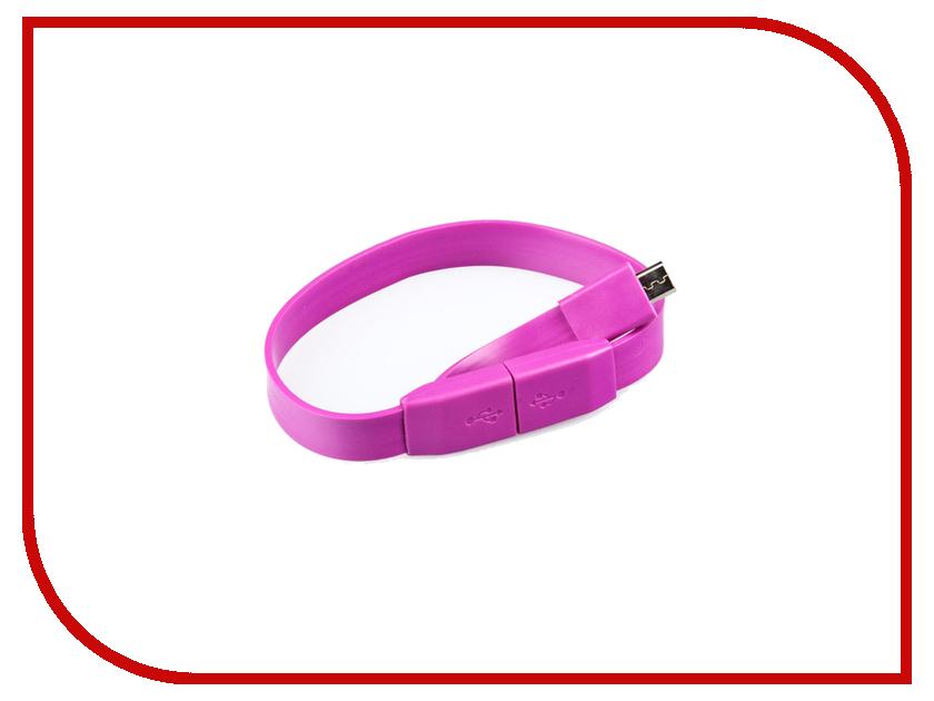 Аксессуар Pro Legend micro-USB 25cm Purple PL1326<br>