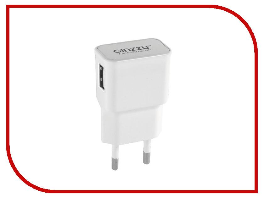 Зарядное устройство Ginzzu USB 1A GA-3105UW