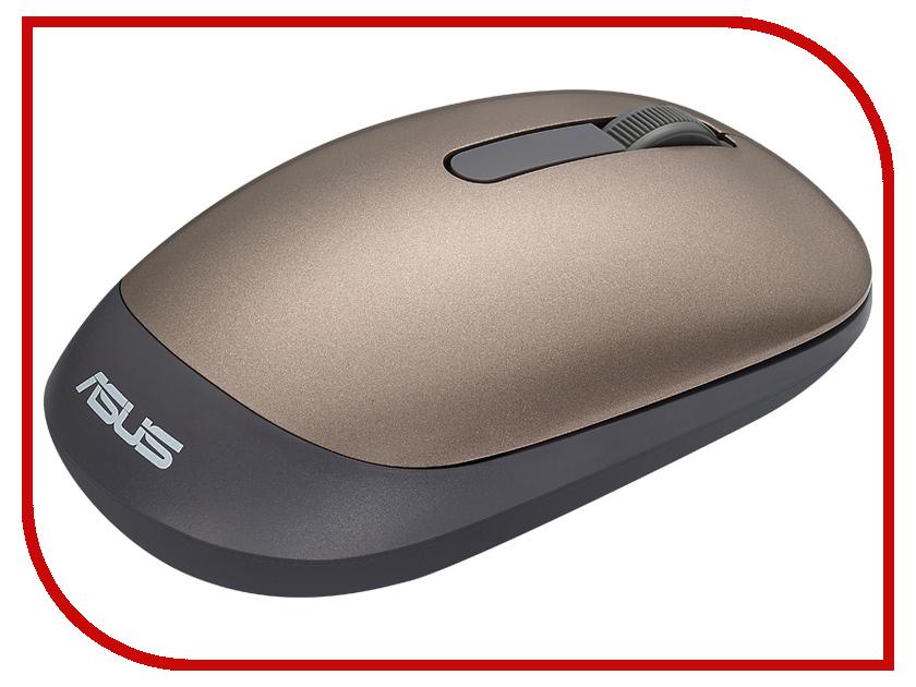 лучшая цена Мышь ASUS WT205 Gold 90XB03M0-BMU000