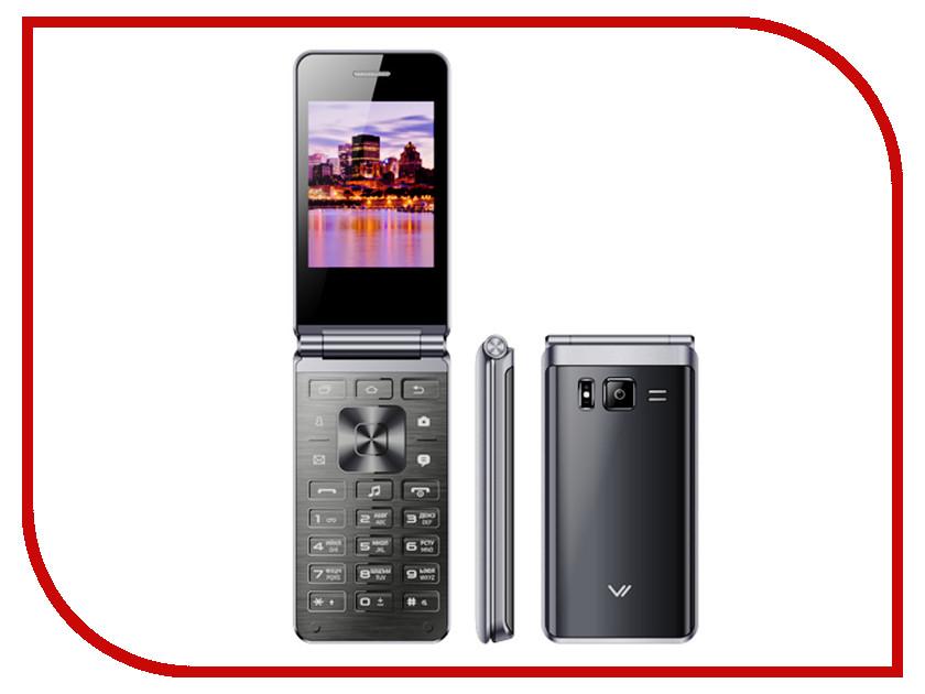 Сотовый телефон Vertex S105 Flip Dark Gray vertex vertex impress lion 4g