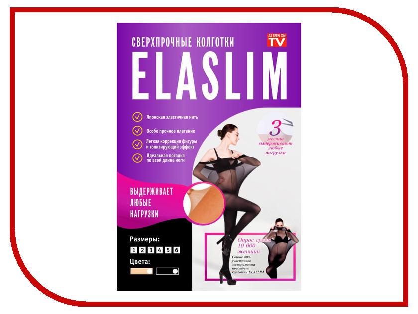 Колготки ELASLIM Размер 4 плотность 40 DEN Black<br>