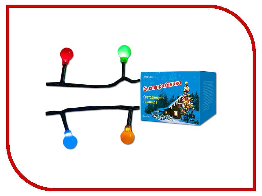 Гирлянда Uniel ULD-S0540-060/DGA IP20 Colorballs Multi