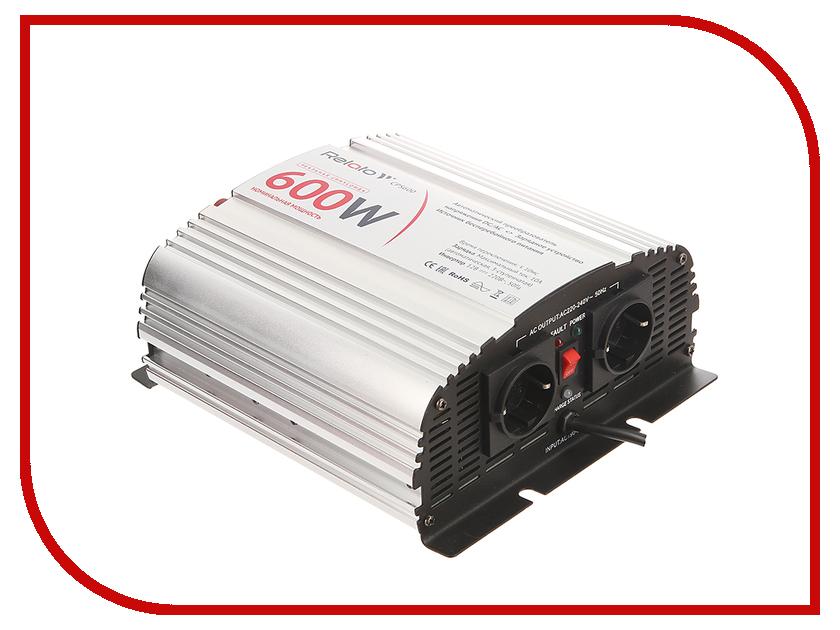 Автоинвертор Relato CPS600 (600Вт) с 12В на 220В
