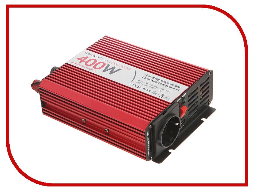 Автоинвертор Relato PS400 (400Вт) с 24В на 220В