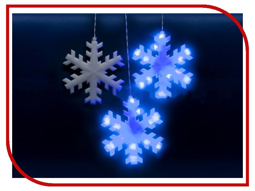 Гирлянда Uniel ULD-E2703-120/DTA IP20 Snowflakes Blue uniel uld 11040