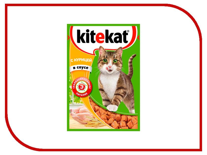 Корм Kitekat Курица в соусе 85g для кошек 10151302