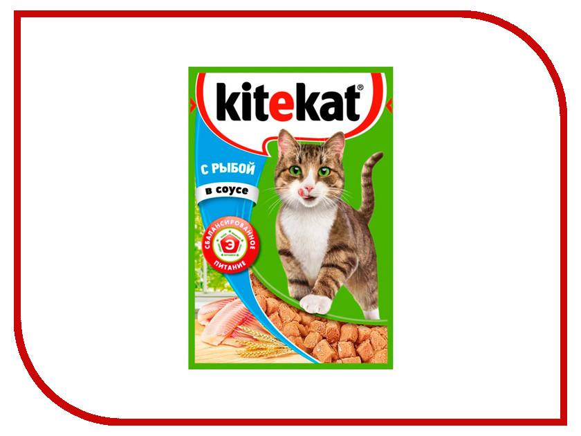 Корм Kitekat Рыба в соусе 85g для кошек 10151306<br>
