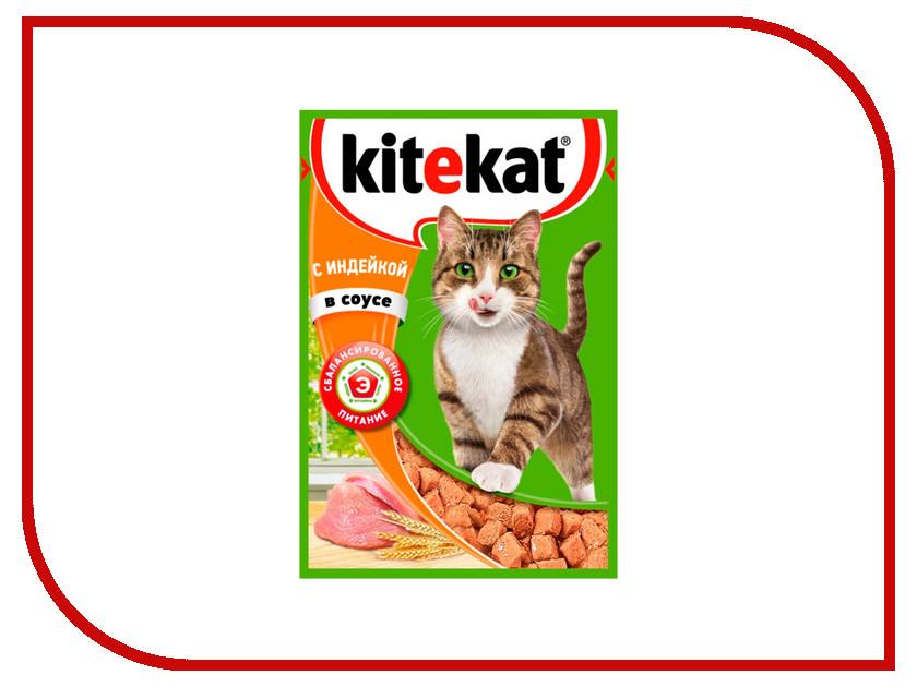 Корм Kitekat Индейка в соусе 85g для кошек 10151312