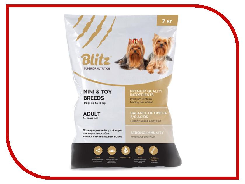 Корм Blitz для собак миниатюрных и мелких пород 7kg<br>