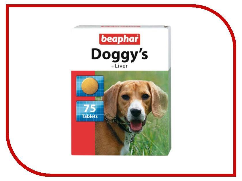 Витамины Beaphar Лакомство Догги Печень 75шт 12504 для собак