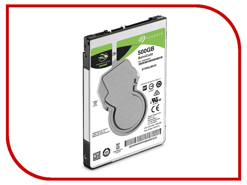 Жесткий диск 500Gb - Seagate BarraCuda ST500LM030