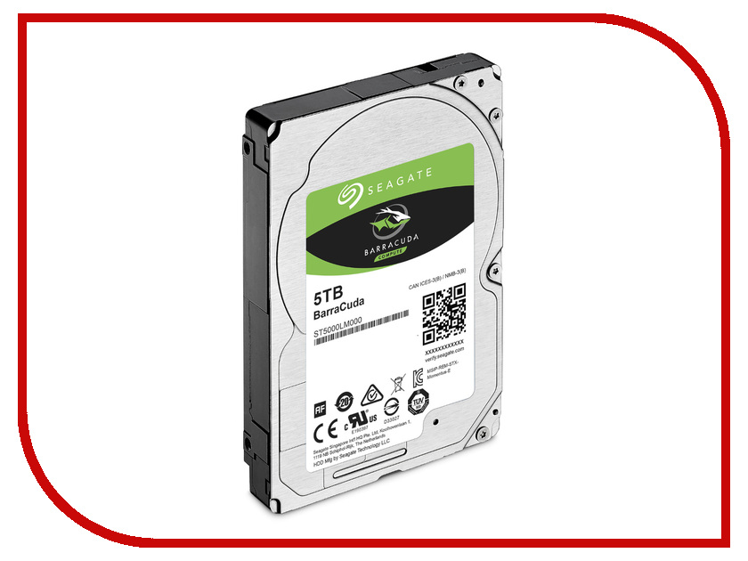 Жесткий диск 5Tb - Seagate BarraCuda ST5000LM000 жесткий диск 5tb seagate enterprise capacity 3 5 hdd st5000nm0024