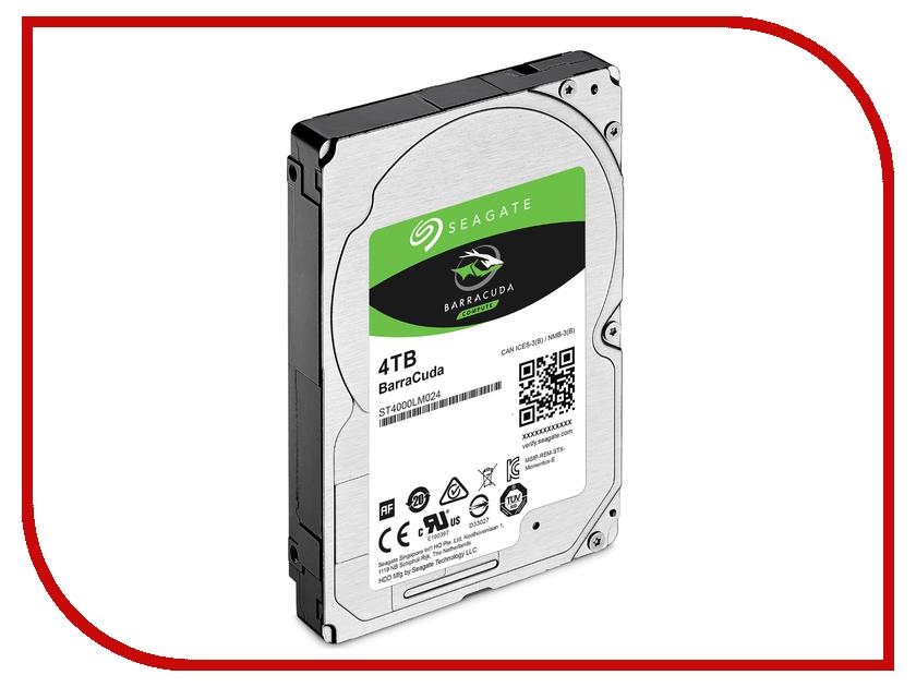Жесткий диск 4Tb - Seagate BarraCuda ST4000LM024
