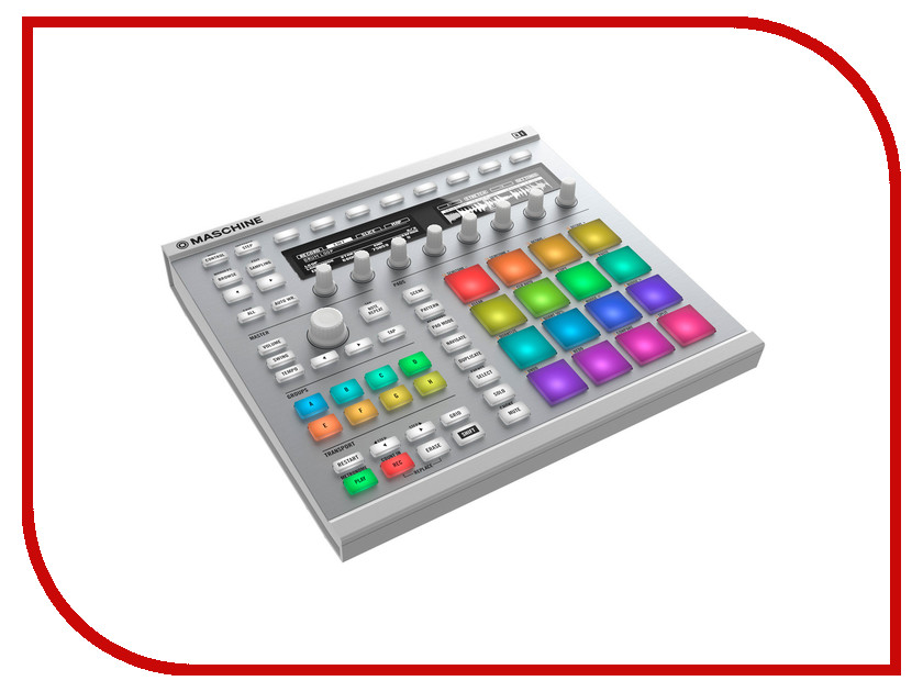 MIDI-контроллер Native Instruments Maschine MkII White