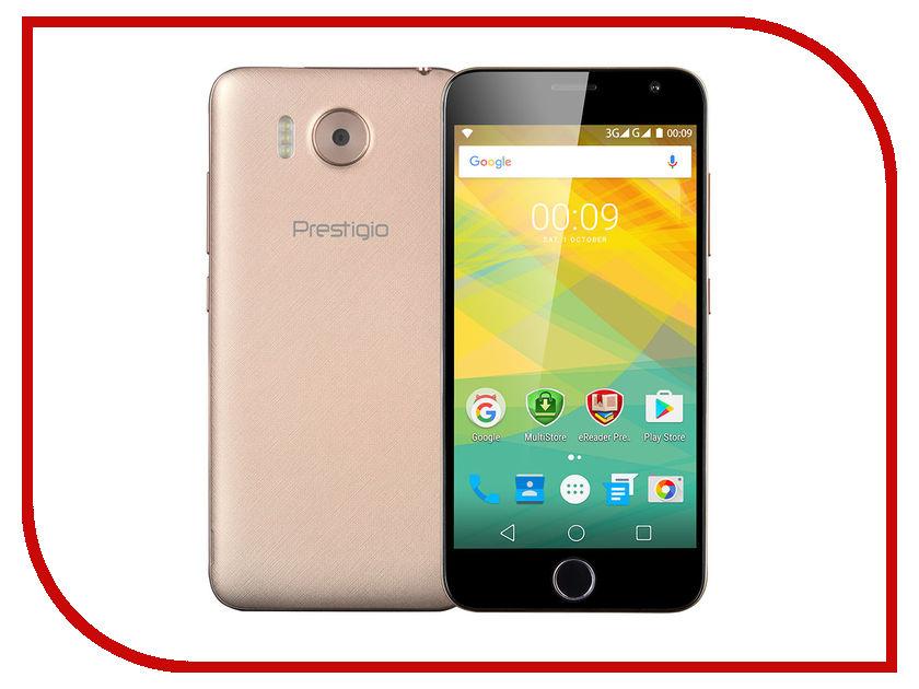 Сотовый телефон Prestigio Grace R7 Gold PSP7501DUOGOLD<br>