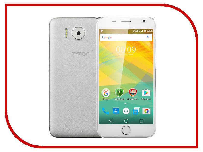 Сотовый телефон Prestigio Grace R7 Silver PSP7501DUOSILVER<br>