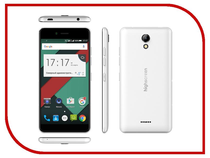Сотовый телефон Highscreen Easy S PRO White<br>