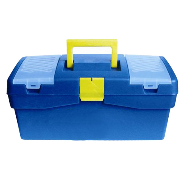 Ящик для инструментов Элит пласт A-42 420x220x180mm Blue 838155