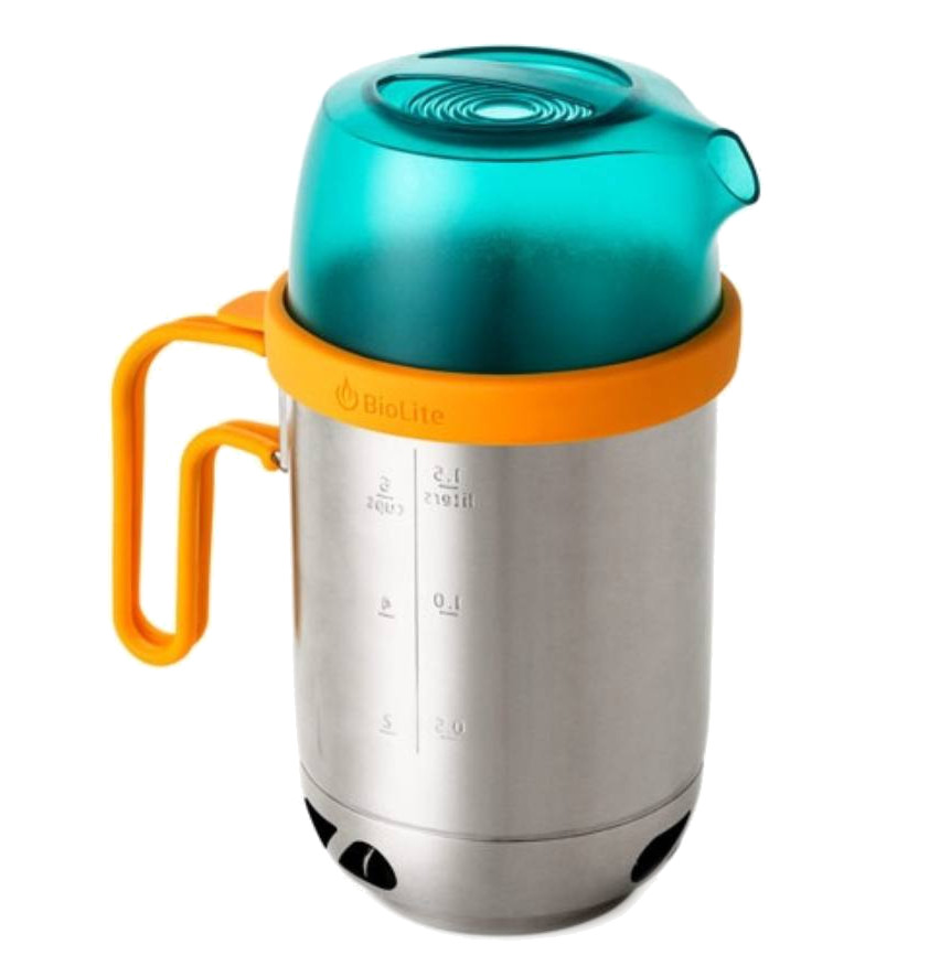 Чайник насадка BioLite KettlePot KPA кофе пресс biolite coffeepress cac1001