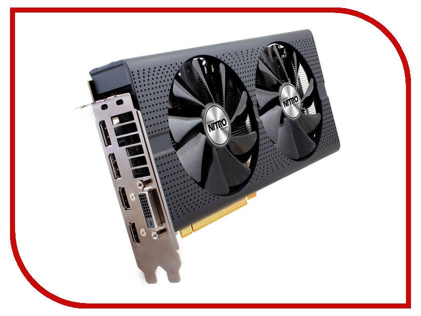 Видеокарта Sapphire Nitro+ Radeon RX 480 8G GDDR5 1208Mhz PCI-E 3.0 8192Mb 8000Mhz 256 bit DVI 2xHDMI HDCP 11260-01-20G<br>