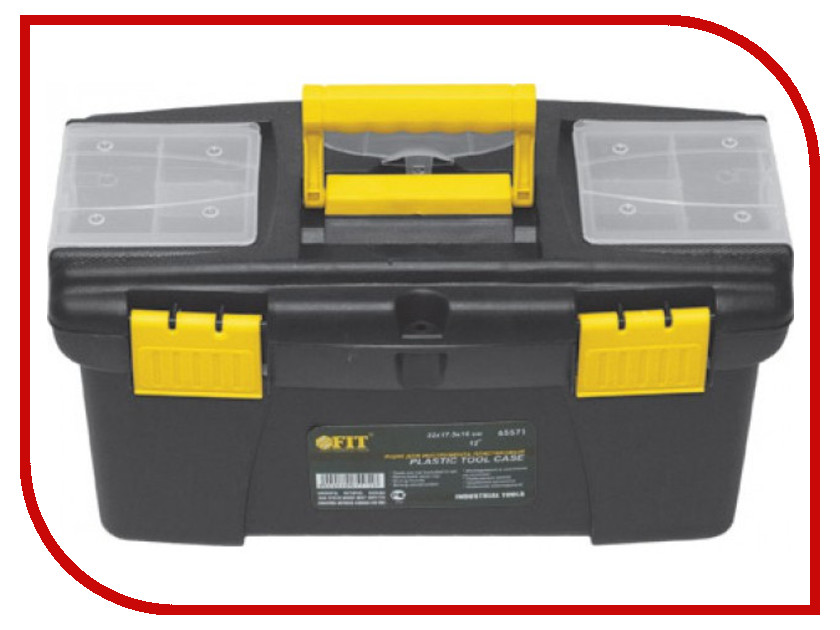 Ящик для инструментов FIT 41x22x19.5cm 65572 ящик для инструментов fit 19