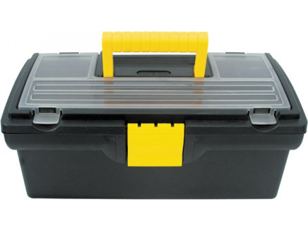 Ящик для инструментов FIT 33x17.5x12.5cm 65500 ящик для инструментов stels 16 17 5х21х41 90711