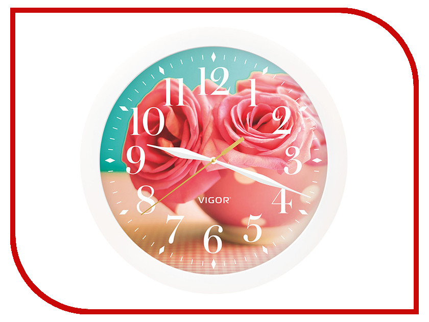 Часы Vigor Д-29 Розовые розы часы vigor д 29 элегия