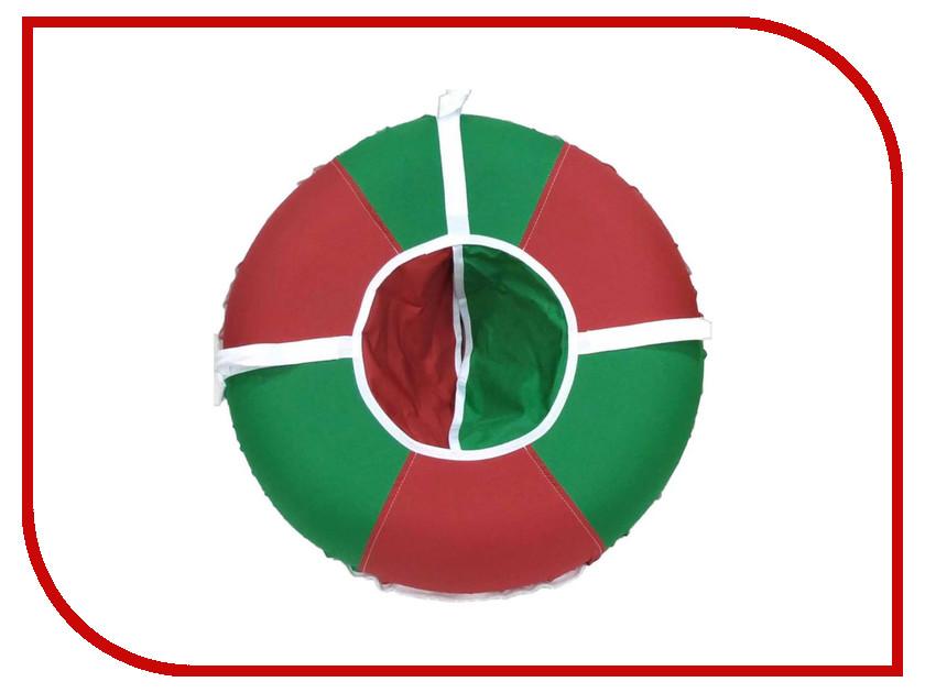 Тюбинг Кедр плюс санки-ватрушки 80см Red-Green<br>