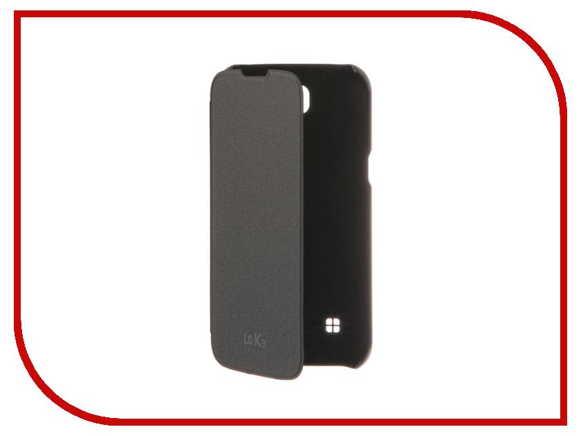 Аксессуар Чехол LG K100 Titan Black CFV-250 lg см8360 black