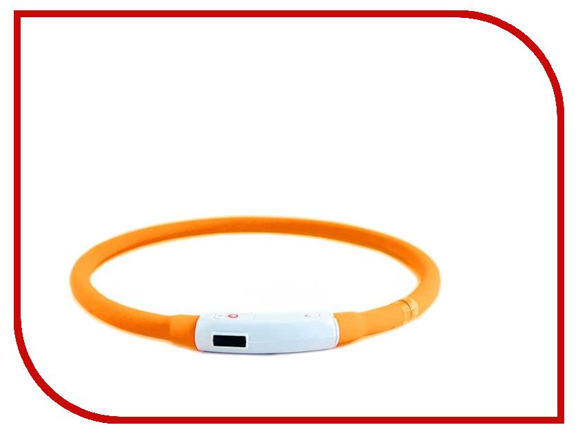 Ошейник светодиодный Richi LED 35cm S Silicone Orange 3515<br>