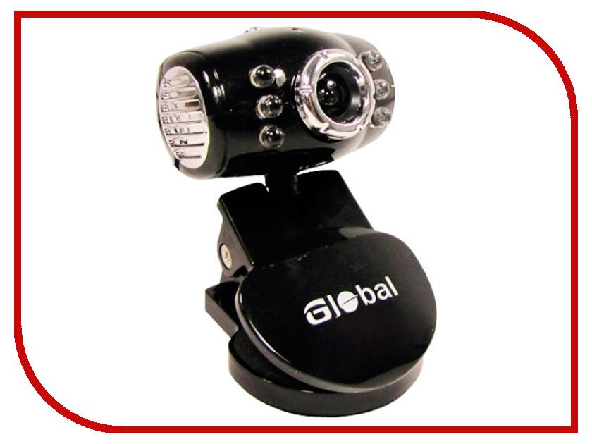 Вебкамера Global A-6 Black<br>