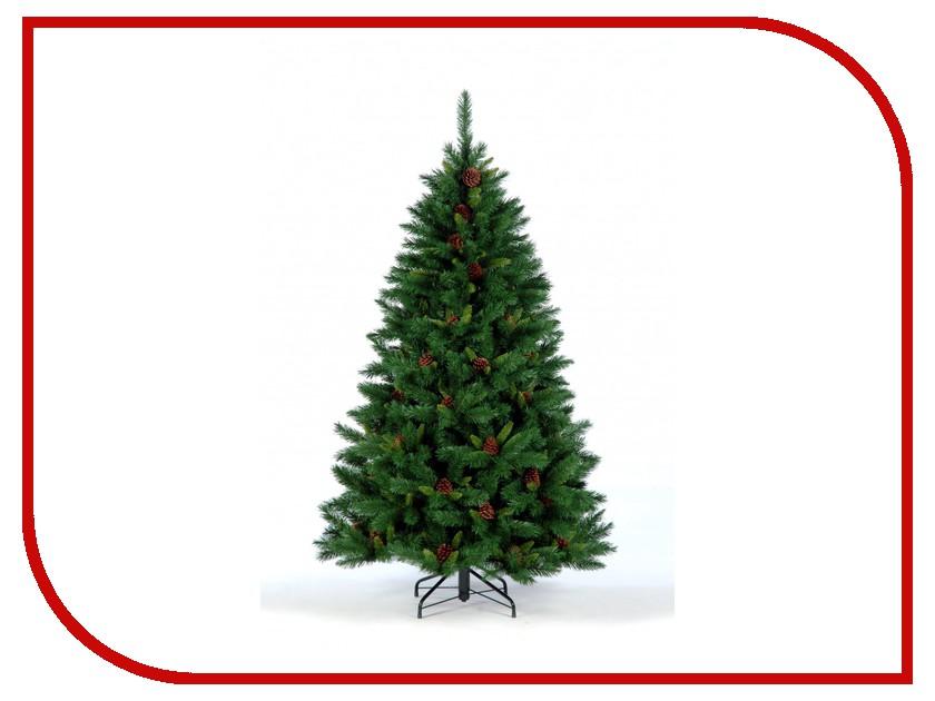 Искусственная Ель Crystal Trees Европейская с шишками 210cm 84-868-271P