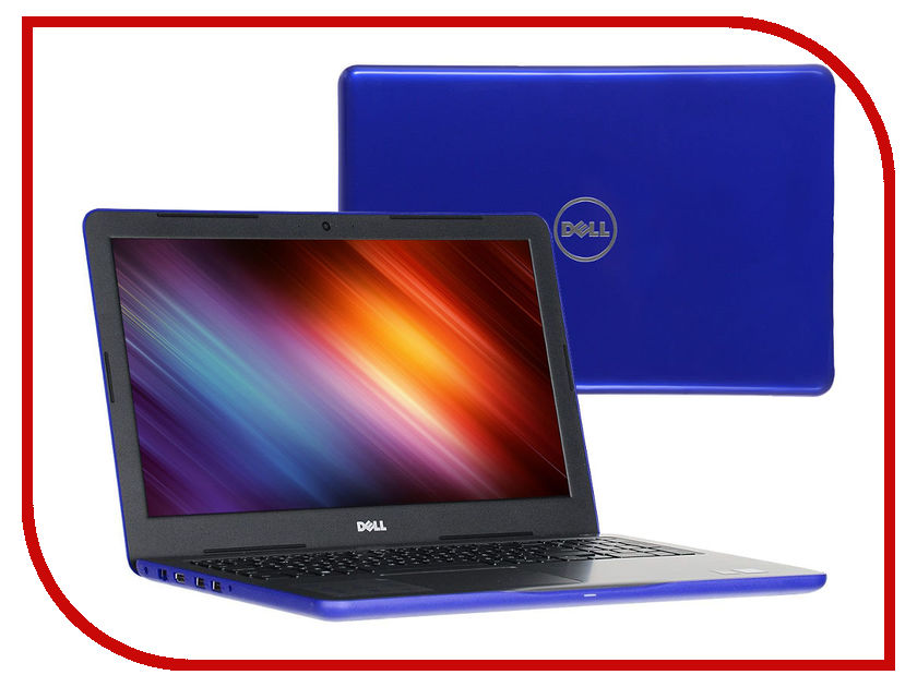 Ноутбук Dell Inspiron 5567 5567-3539 (Intel Core i5-7200U 2.5 GHz/8192Mb/1000Gb/DVD-RW/AMD Radeon R7 M445/Wi-Fi/Bluetooth/Cam/15.6/1920x1080/Windows 10 64-bit)<br>