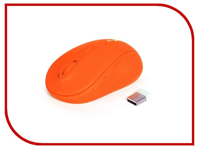 Мышь беспроводная X-Game XM-810OGO Neon-Orange