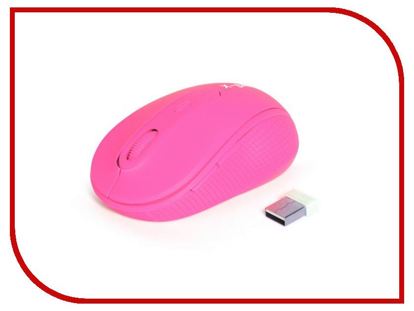 Мышь беспроводная X-Game XM-810OGP Neon-Pink