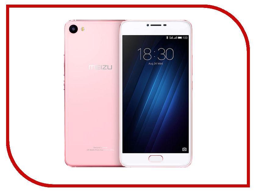 Сотовый телефон Meizu U20 16Gb Rose-Gold<br>
