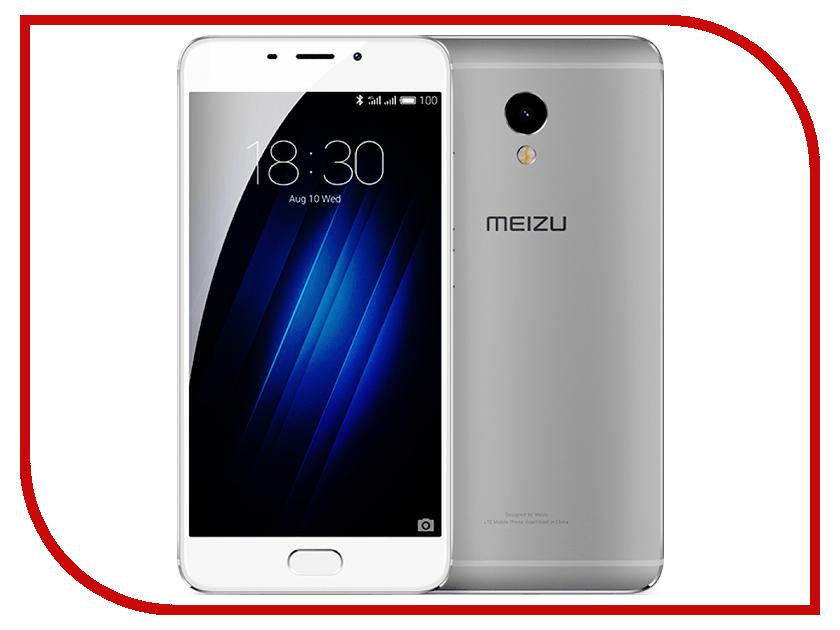 Сотовый телефон Meizu M3E Silver<br>
