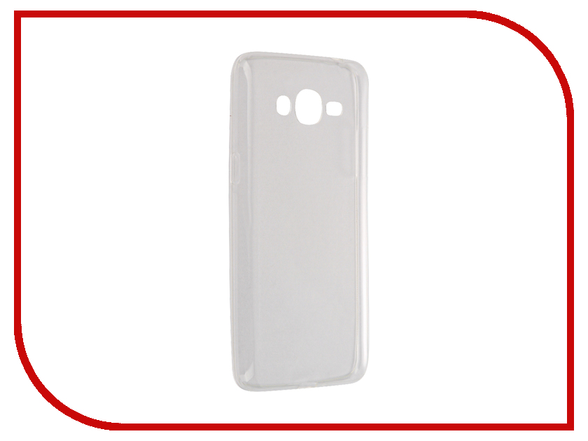 Аксессуар Чехол для Samsung Galaxy J2 Prime G532 Gecko White S-G-SGJ2PR-WH чехол для samsung galaxy j2 prime sm g532 skinbox 4people case красный