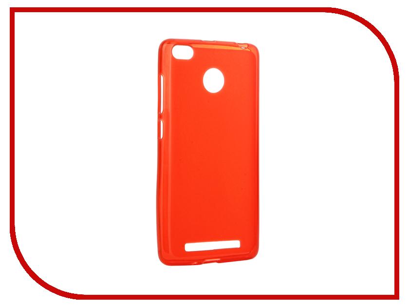 Аксессуар Чехол Xiaomi Redmi 3 / 3s / 3 Pro Gecko Red S-G-XIRM3-RED
