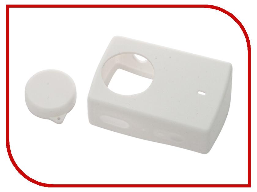 Аксессуар Чехол Xiaomi Yi 4K Action Camera 2 Apres Silicone Case White<br>