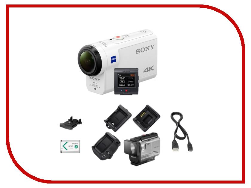 Экшн-камера Sony FDR-X3000R видеокамера sony fdr ax33 черный flash [fdrax33b cel]
